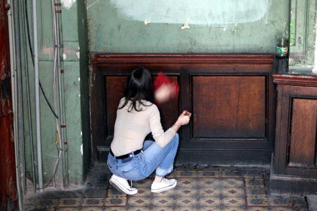 реставраторы волонтёры дом Берштейна (2-я Советская 21)