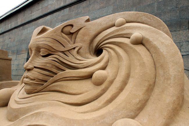 фестиваль песчаных скульптур Душа Вселенной