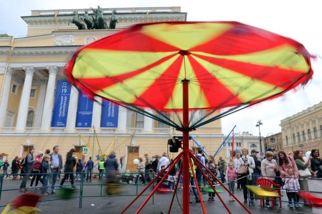 фестиваль мороженого площадь Островского карусель аттракционы