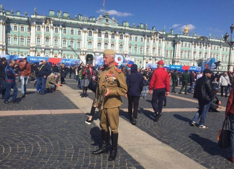 день победы дворцовая площадь