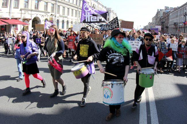 первое мая первомайская демонстрация феминистки