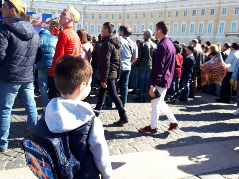 шарик день победы дворцовая площадь