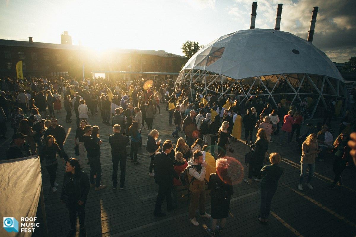 roof fest музыка крыша танцы