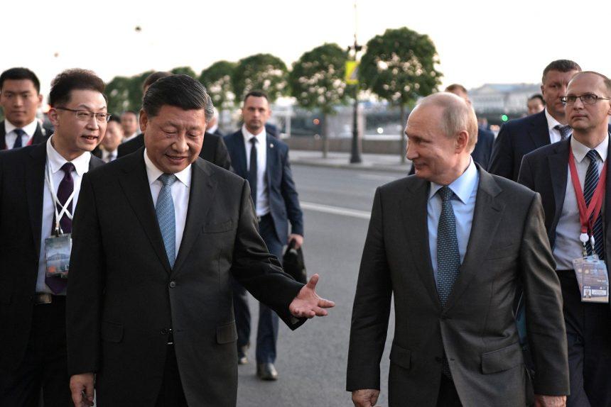 Путин Си Цзиньпин КНР Китай
