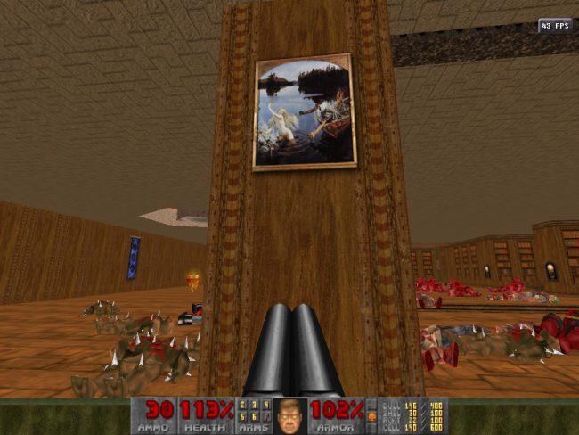 компьютерные игры видеоигры Doom II