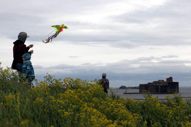 фестиваль воздушных змеев Фортолёт форт Константин Кронштадт