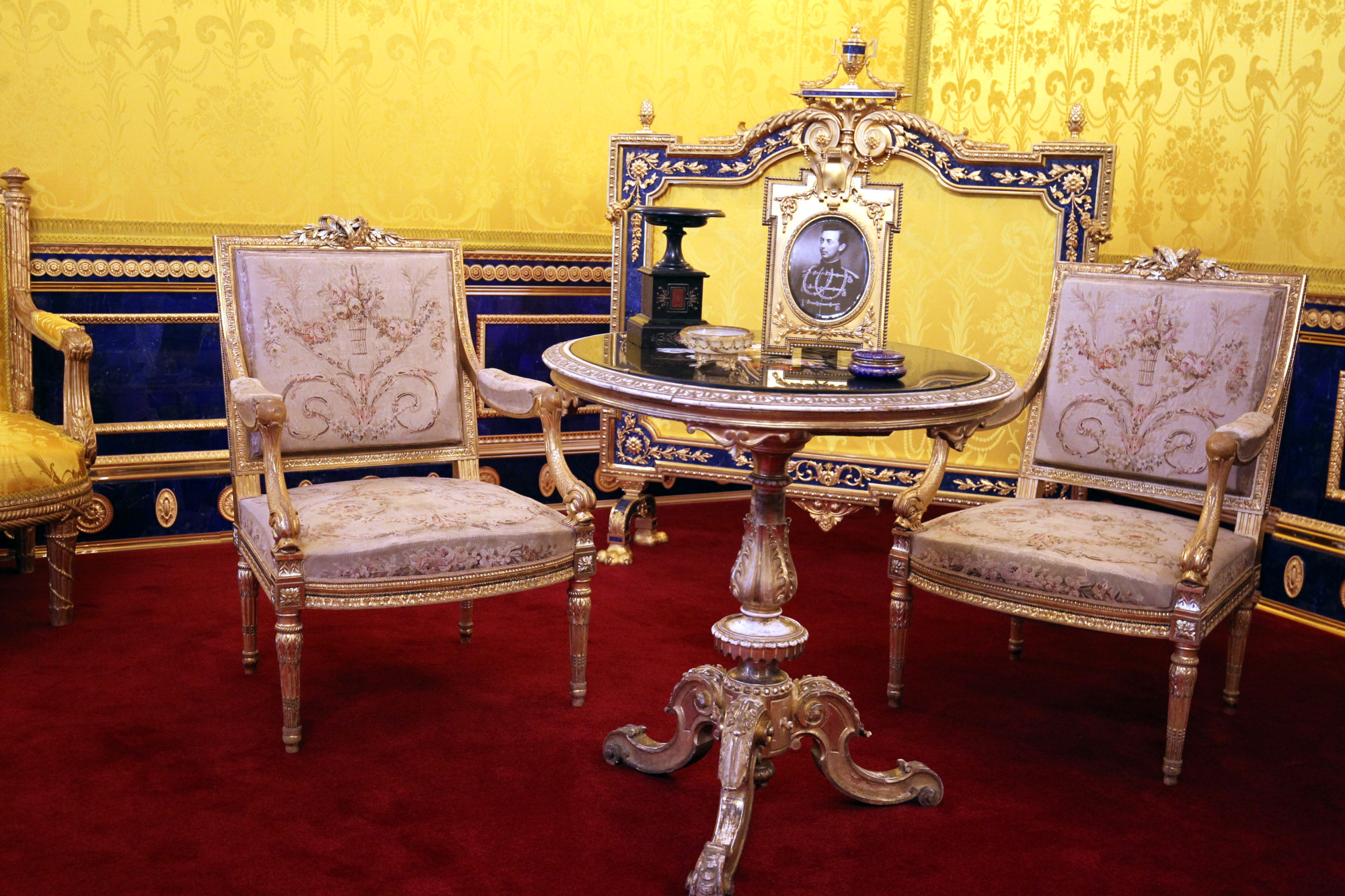 ГМЗ Царское Село Екатерининский дворец Лионский зал реставрация