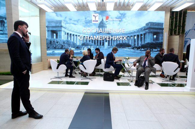 Петербургский экономический форум ПМЭФ 2019 деловые переговоры бизнес