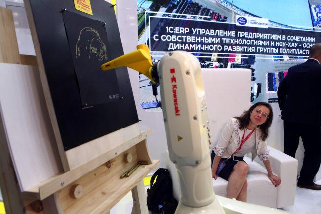 Петербургский экономический форум ПМЭФ 2019 роботы
