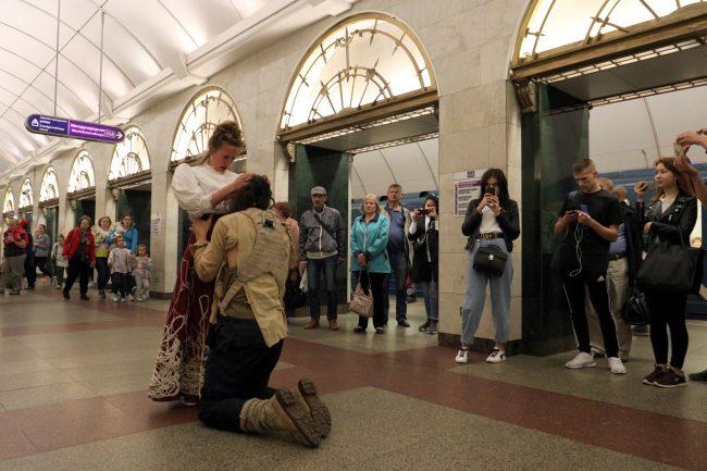 Театральная Олимпиада театр Gajes спектакль в метрополитене
