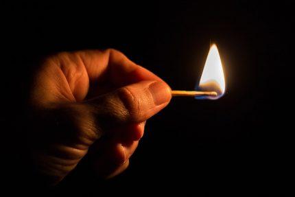 спички огонь поджог пламя пожар