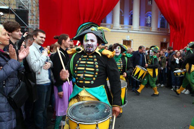 открытие театральной олимпиады спектакль актёры