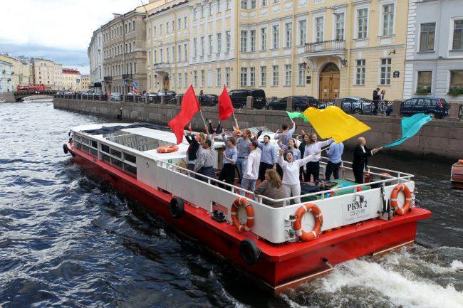 речной фестиваль прогулочный теплоход Мойка