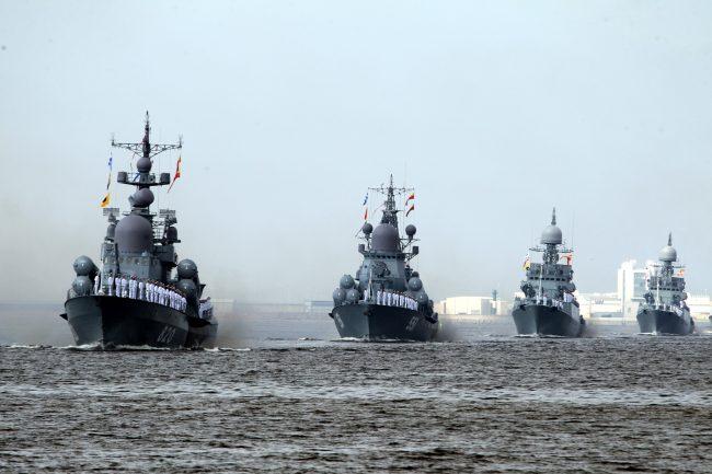 день ВМФ парад корабли Кронштадт