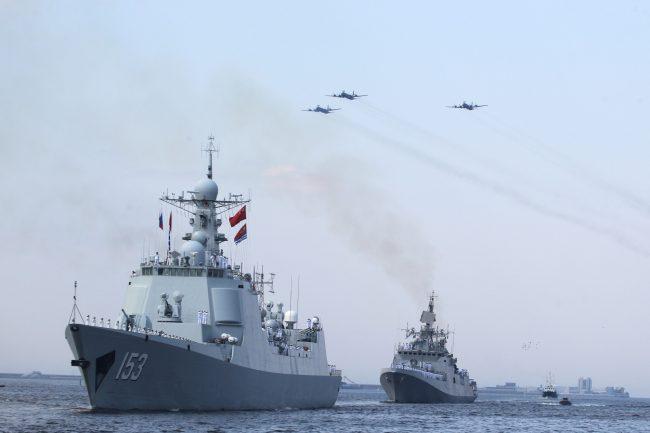 день ВМФ парад корабли Кронштадт эсминец Сиань фрегат Таркаш