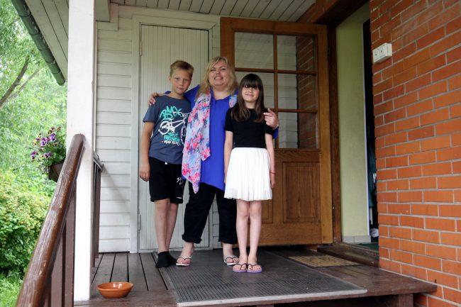 Детская деревня SOS приёмная семья Катя Максим Диана