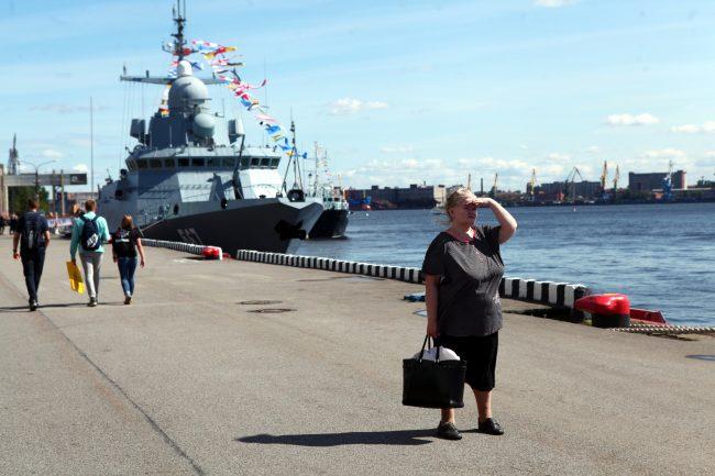 Международный военно-морской салон корабли