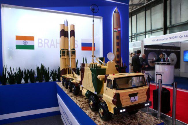 Международный военно-морской салон оружие ракета БраМос Brahmos
