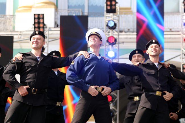 день ВМФ концерт моряки матросы
