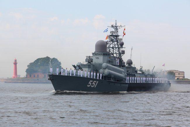 день ВМФ Главный военно-морской парад малый ракетный корабль Ливень