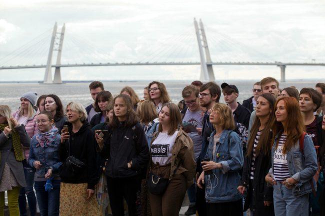 Стереолето зрители молодёжь финский залив ЗСД