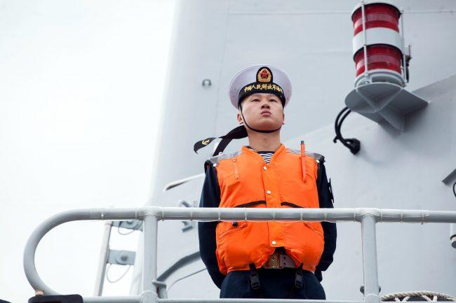 эсминец Сиань ВМС Китая военный корабль флот матрос моряк