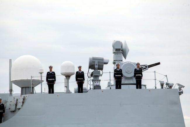 эсминец Сиань ВМС Китая военный корабль флот моряки
