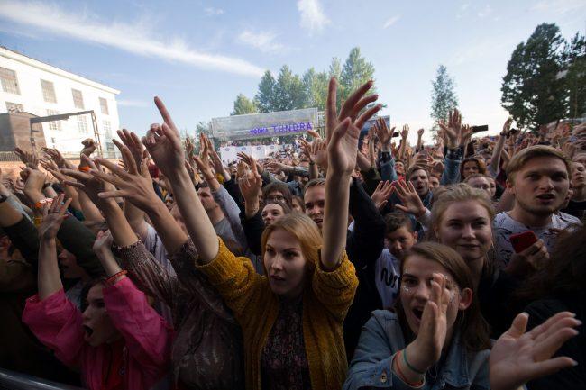 Стереолето зрители молодёжь слэм массовые развлечения