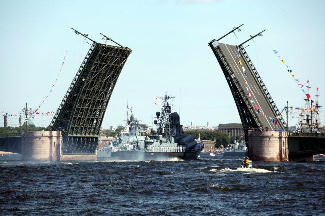 военные день ВМФ репетиция малый ракетный корабль Пассат