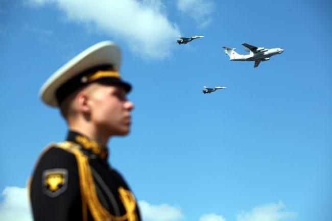 самолёты авиация день ВМФ