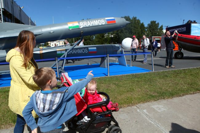 Военно-морской салон оружие ракеты БраМос BrahMos