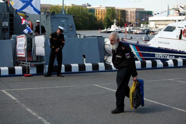 Военно-морской салон моряки пенсионер