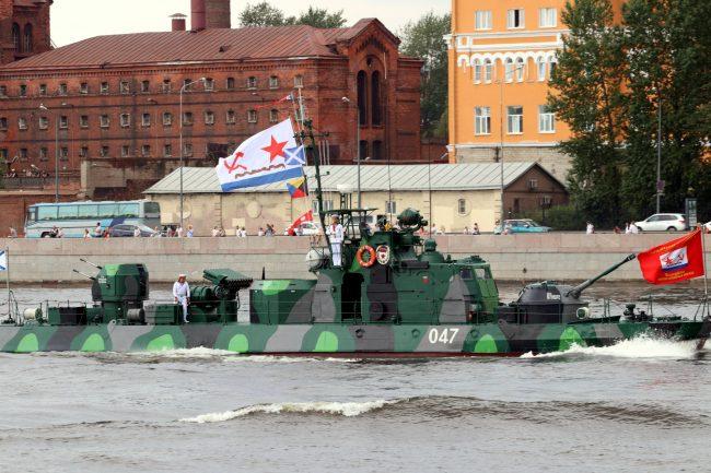 день ВМФ главный военно-морской парад корабли