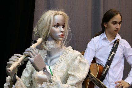 робот флейтистка ELSA университет ИТМО
