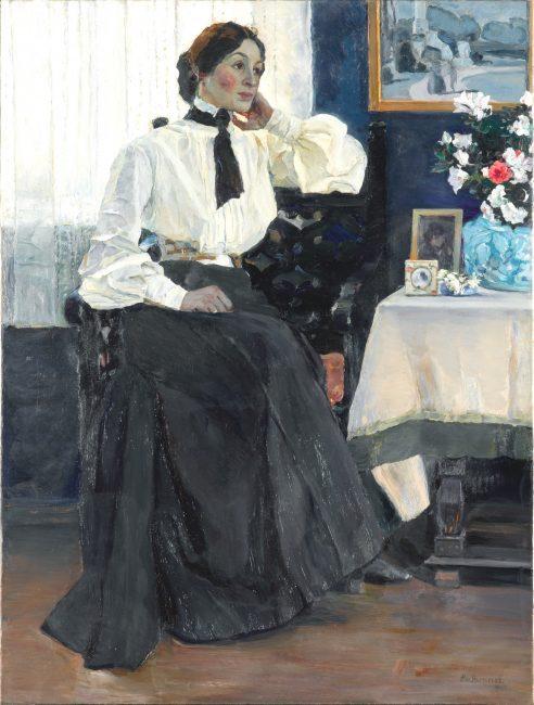 Портрет Екатерины Петровны Нестеровой
