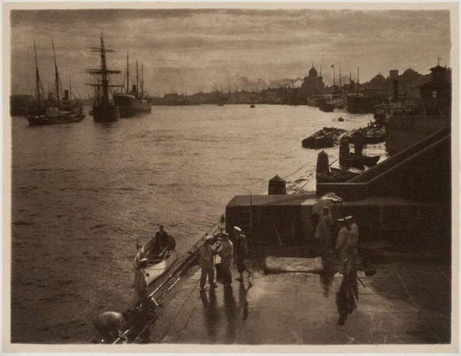 Набережная Невы до 1909 года,