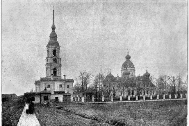 Колокольня Троицкого собора в г. Колпино (фундамент)
