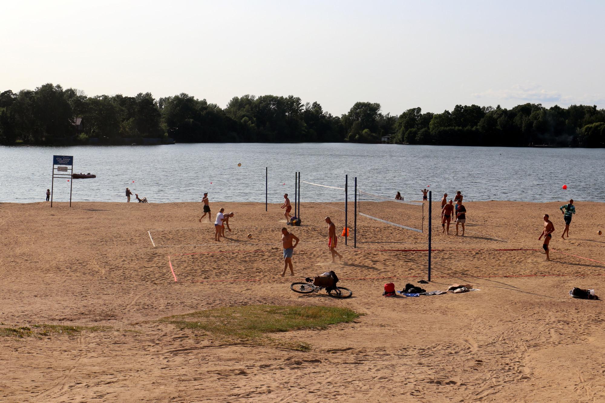 пляж отдых лето вода Суздальские озёра
