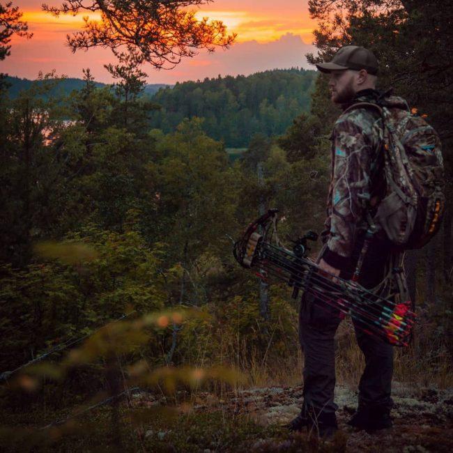 лук, стрелы, охота, лучник, закат