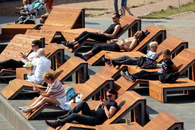 фестиваль водных видов спорта Огонь, Вода и Трубы вейкбординг зрители
