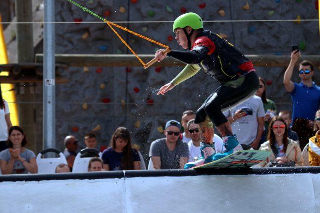 фестиваль водных видов спорта Огонь, Вода и Трубы вейкбординг