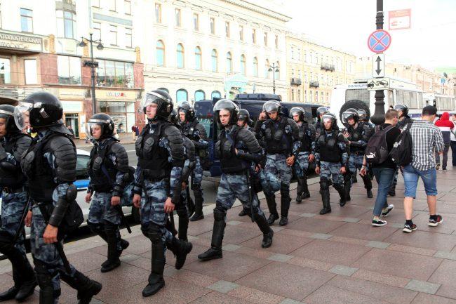 полиция омон задержания пикеты