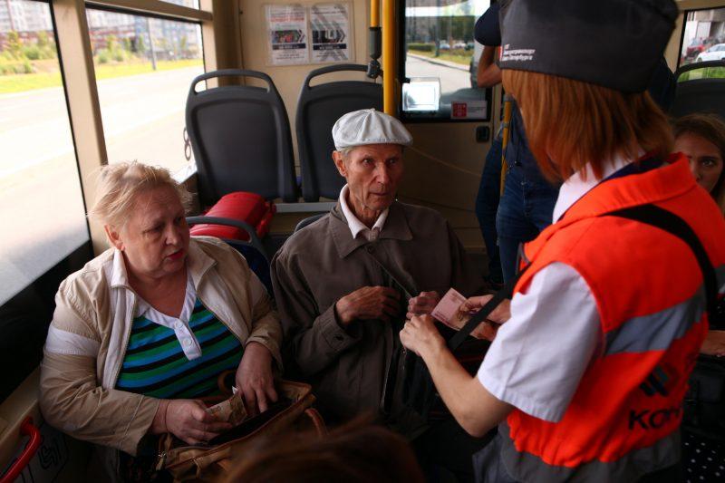 троллейбус электробус маршрут 32 пассажиры пенсионеры
