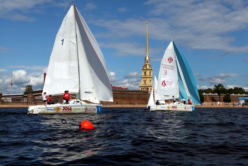 Студент под парусом - не студень: в Петербурге состязаются яхтсмены из вузов страны и мира