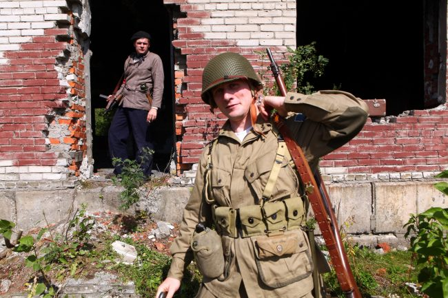 фестиваль За линией фронта реконструкторы Великая Отечественная война