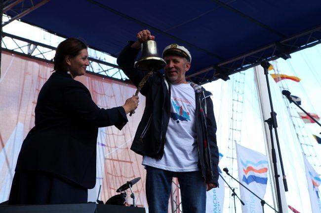 ораниенбаумский морской фестиваль колокол рында