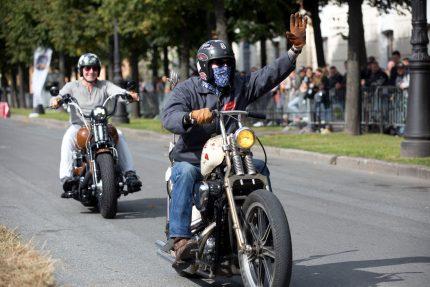мотоциклисты байкеры фестиваль мотостолица