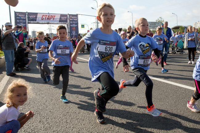 полумарафон Балтийский шторм бег лёгкая атлетика детский спорт