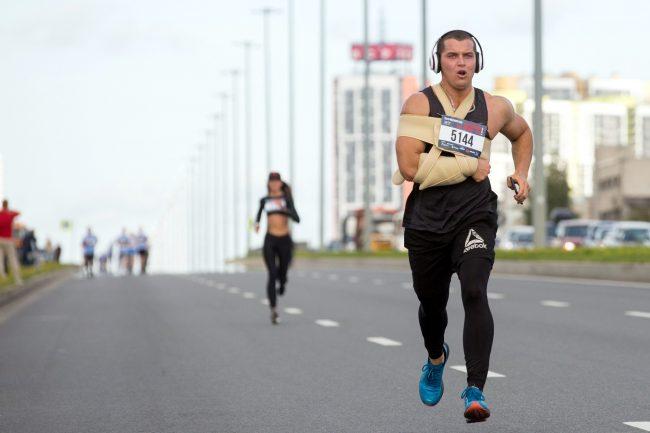 полумарафон Балтийский шторм бег лёгкая атлетика