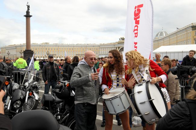 байкеры мотоциклисты фестиваль Harley Days Александр Розенбаум